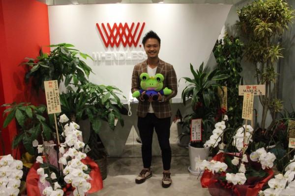 「W-ENDLESS」の代表取締役社長 菅原隆太朗さん